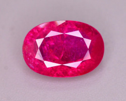 Ravishing Color 2.60 Ct Natural Ruby From Tajikistan