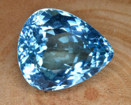 Natural Blue Topaz 35.02 Cts Top Clean Gemstone