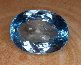 Natural Blue Topaz 38.88 Cts Top Clean Gemstone