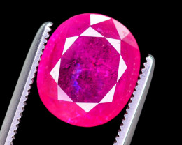 Superb Color 3.65 Ct Natural Ruby From Tajikistan