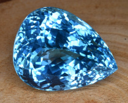 Natural Blue Topaz 40.77 Cts Top Clean Gemstone