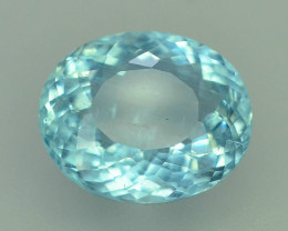 GIL ~ Certified 4.84 ct Natural Untreated Aquamarine