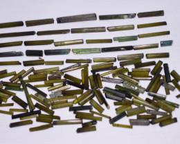 157 Carats Rough Tourmaline Crystals