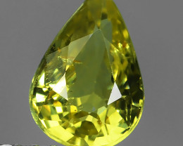 1.05 CtsExceptional Top Quality Lustrous Natural Green Yellow Chrysoberyl!!