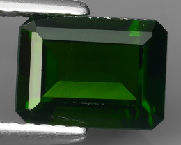 1.80  Cts MARVELOUS RARE NATURAL TOP GREEN- CHROME DIOPSIDE DAZZLING  NR!!