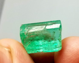 11.90  Cts Natural Panjshire Afghanistan Emerald  crystal