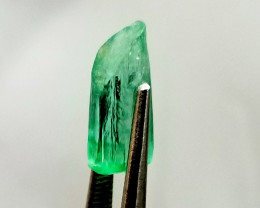 3.73 Cts double Terminated Panjshire Emerald crystal