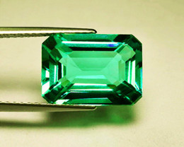 2.39 ct Natural Zambian Emerald Certified. Magnificent Top Stone!
