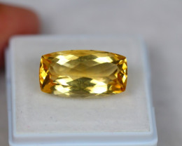 8.85ct Yellow Citrine Octagon Cut Lot V3842