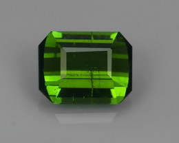 1.40 CTS AWESOME NATURAL OCAGON GREEN TOURMALINE GEM!!
