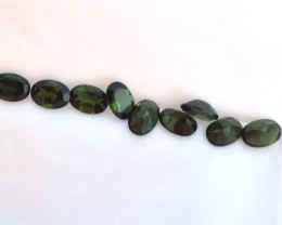 7.00 Carat Parcel of Fine Green Tourmaline Ovals