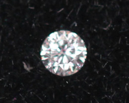 1.45mm Natural Light Pink To White Diamond Clarity VS Lot LZ2238