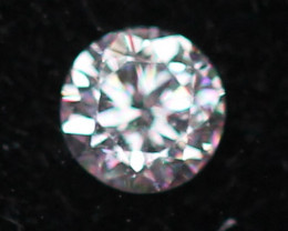 2.40mm Natural Light Pink To White Diamond Clarity VS Lot Z309