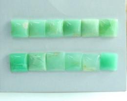 Chrysoprase Cabochons ,Healing Stone ,Lucky Gemstone ,Birthday C113
