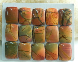 Sale Beautiful Multi Color Jasper Cabochon Beads ,Healing Stone C106
