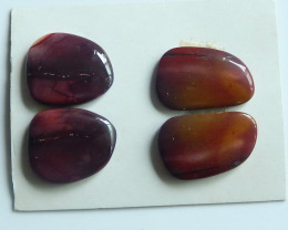 64cts Beautiful Mookite Cabochons ,Handmade Gemstone ,,Lucky Stone C108