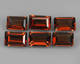 3.80 CTS~EXQUISITE NATURAL UNHEATED RED COLOR  GARNET!!