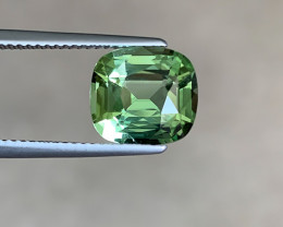 Gleaming Blue Green Tourmaline - 4.08ct Cushion - Eye Clean - Africa