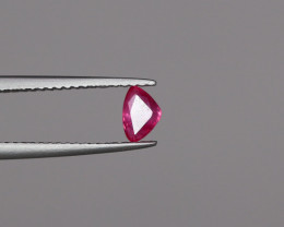 (0.48Cts Natural No Het Ruby)