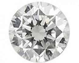 0.09 ct Round Diamond (G / VS2)