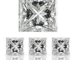 0.05 ct Princess Cut Diamond (E / VS1)