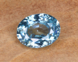 Natural Blue Zircon 1.71 Cts Top Luster Gemstone
