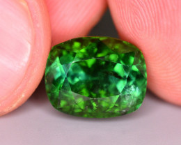 Ravishing Luster 7.05 Ct Mint Green Tourmaline From Afghanistan. RA