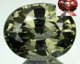 Amazing 0.94Ct Natural Colour Change Garnet