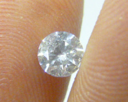 0.56ct  K-I1 Diamond , 100% Natural Untreated