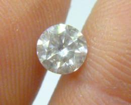 0.74ct  K-SI2 Diamond , 100% Natural Untreated