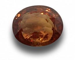 Natural Pinkish Brown Orange Sapphire|Loose Gemstone| Sri Lanka