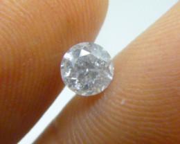 0.63ct   G-I1 Diamond , 100% Natural Untreated