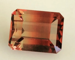 Defined color Separation - Reddish Orange to Orangey - Tourmaline G499