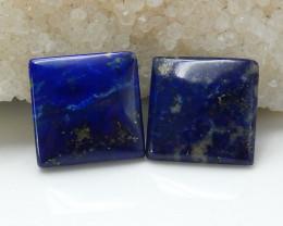 31.25cts Trilliant Blue Lapis Lazuli Cabochon | Natural Lapis Lazuli Caboch