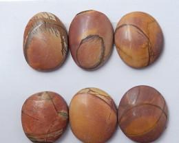 Sale Wholesale Gemstone Multi Color Jasper Cabochon Round Beads C138