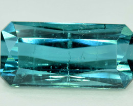 8.20 cts Natural Indicolite Tourmaline Gemstone