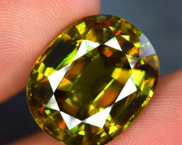 AAA Grade Quality24 Carats  Natural Full FIre Sphene Titanite Ge