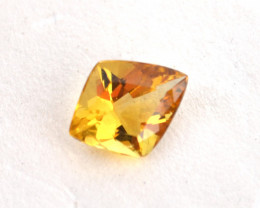 2.32 Carat Fine Fancy Kite Shaped Heliodor Beryl
