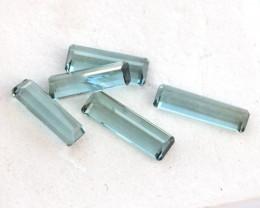 3.64 Carat Parcel of Fine Blue-Green Tourmalines