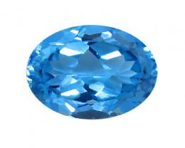 17.16 ct Fine Royal Blue Oval Topaz
