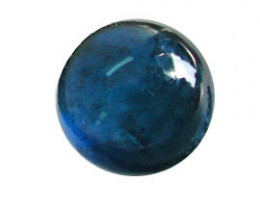 4.41 ct Navy Blue Cabochon Blue Sapphire