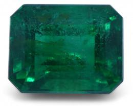 2.02 ct Emerald Cut Emerald GIA Certified