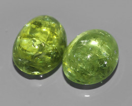 11.00 CTS~EXQUISITE NATURAL UNHEATED YELLOWISH GREEN GROSSULAR-ANDRADITE!!