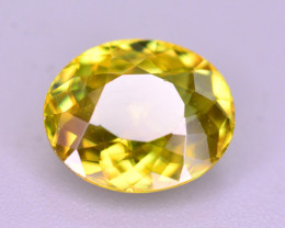Top Fire 1.40 Ct Natural Tanzanian Sphene