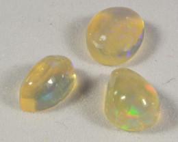 Freeform cabochon Ethiopian Opal 2.5 total Cts. (KG26L2 )