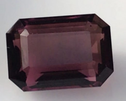 MASTER CUTTER: 8.80ct Raspberry Red Emerald cut Tourmaline, G504