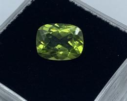Peridot Loose Gemstone  - 2.01 carats - Gemme - Cushion   - Colour Green -