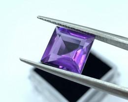 Amethyst Loose Gemstone  - 4.23 carats - Gemme - Shape Octa Mixed   - Ideal