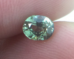 (B6) GFCO Certified Stunning 0.70ct Natural Alexandrite Very RARE!