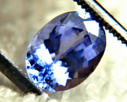 1.84 Carat VVS Purple Blue African VVS Tanzanite - Gorgeous
